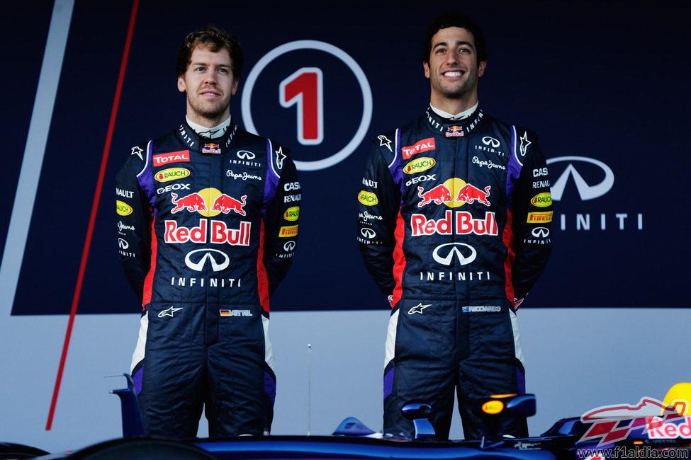 Piloto Red Bull 2014 Pilotos Red Bull en 2014