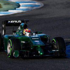 El CT05 de Robin Frijns avanza en Jerez