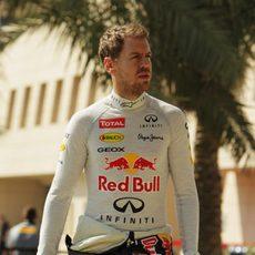 Sebastian Vettel, listo para los tests de Baréin