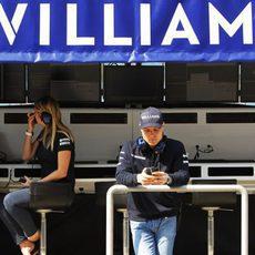 Valtteri Bottas con Williams en Baréin