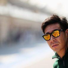Kamui Kobayashi, piloto titular de Caterham en 2014