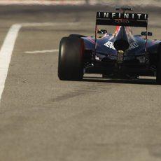 La polémica trasera del Red Bull RB10