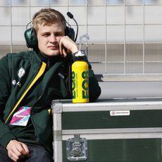 Marcus Ericsson espera impaciente a volver al CT05