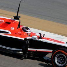 Compuesto más blando para Jules Bianchi