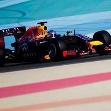 Sebastian Vettel no pudo rodar demasiado
