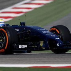Mal día de test para Felipe Massa