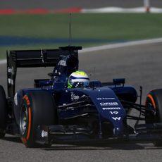Compuesto duro para el FW36 de Felipe Massa