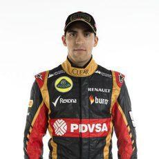 Pastor Maldonado, piloto de Lotus en 2014