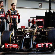 Frontal del Lotus E22