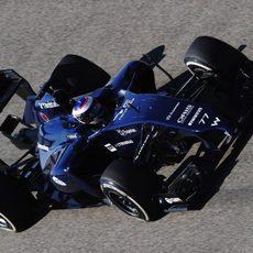 Pruebas mecánicas y aerodinámicas para Valtteri Bottas