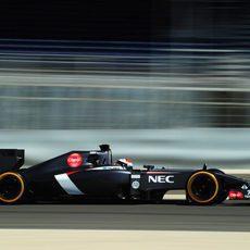 Adrian Sutil recuperó horas en el C33