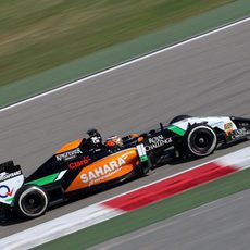 Nico Hülkenberg a bordo del Force India VJM07