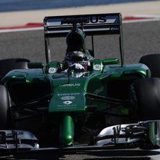 Kamui Kobayashi completa 102 vueltas el último día