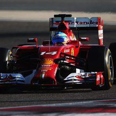 Tercer mejor tiempo de la jornada para Fernando Alonso