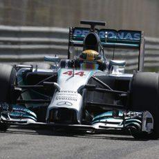 Mejor crono para Lewis Hamilton en el último día de test