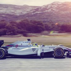 Felipe Massa en el Williams FW36