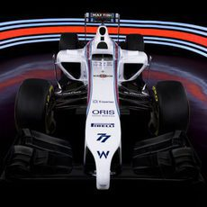 Frontal del Williams FW36