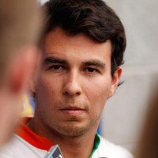 Sergio Pérez con Force India para 2014