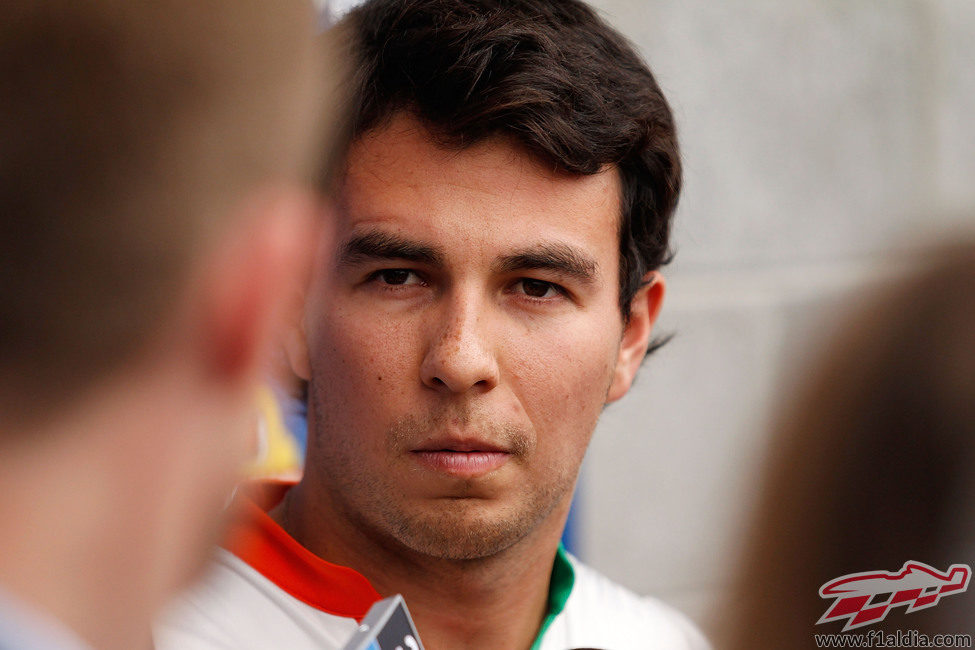 Sergio Pérez con Force India para 2014
