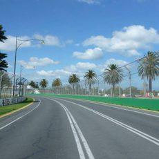 Albert Park vestido de circuito
