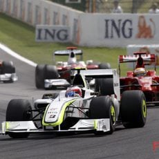 Barrichello con Badoer
