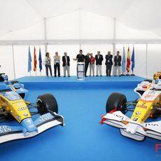 Dos Renaults frente a frente