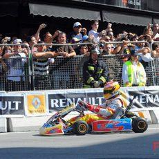 Alonso en el Roadshow