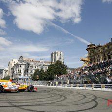 Alonso son su Renault