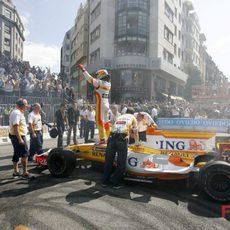 Alonso sobre su R29