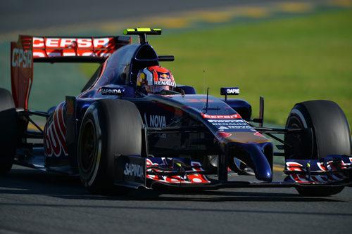 Daniil Kvyat afronta su primer Gran Premio