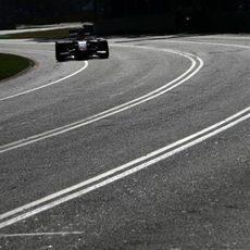Curvas en Albert Park para Jules Bianchi
