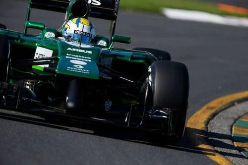 Problemas en el coche de Marcus Ericsson