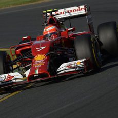 Tanda larga para Kimi Räikkönen en Australia