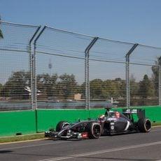 Vuelta cronometrada de Adrian Sutil en Australia