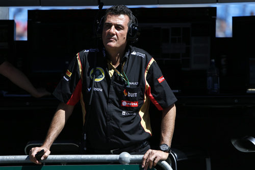 Federico Gastaldi, nuevo jefe adjunto de Lotus