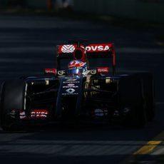 Romain Grosjean no salió en los Libres 1 de Australia