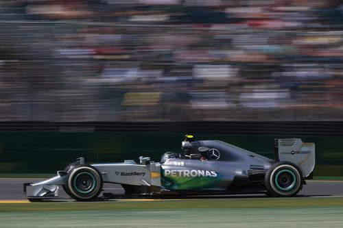 Tanda corta para Nico Rosberg en Australia