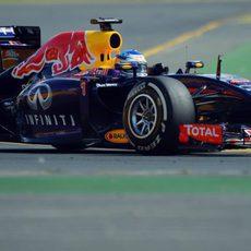 Sebastian Vettel disputa los Libres 3 en Australia