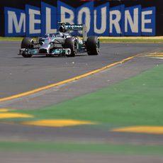 Mejor tiempo para Nico Rosberg en los Libres 3