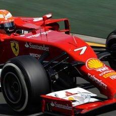 Kimi Räikkönen tuvo problemas de adaptación