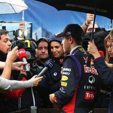 Preguntas para Sebastian Vettel tras la clasificación
