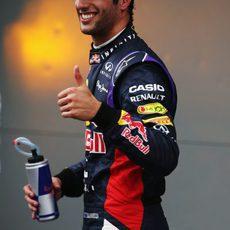 Daniel Ricciardo arranca el año con la segunda plaza en clasificación