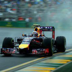 Daniel Ricciardo afronta la Q3 en Melbourne
