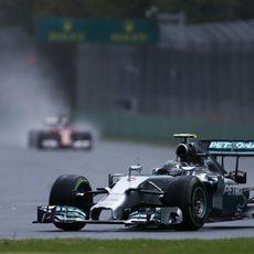 Nico Rosberg finalmente saldrá tercero