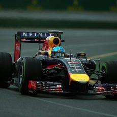 Problemas en el software del RB10 de Sebastian Vettel