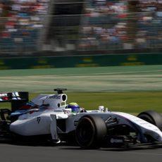 Felipe Massa rueda en los Libres 3 de Australia