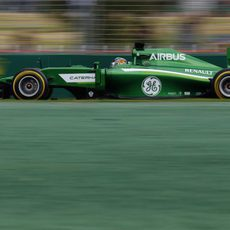 Kamui Kobayashi entró en la Q2 en Australia