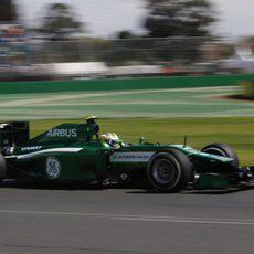 Marcus Ericsson acaba contento su primera clasificación
