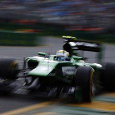 Primera clasificación del año para Marcus Ericsson