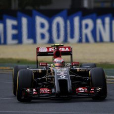 Pastor Maldonado se quedó sin tiempo en la Q1